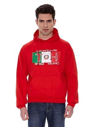 TH Sudadera Italia Lance (Rojo)