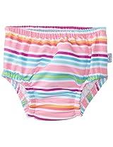 i play. Baby Girls' Ultimate Snap Ruffle Swim Diaper