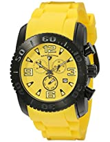 Swiss Legend Men's 10067-BB-07 Commander Analog Display Swiss Quartz Yellow Watch