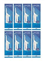 Aqua Floss Oral irrigator and Water Floss (Pack of 8)