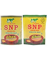 SNP Agmark Ghee, 1.1 Litres (Combo of 2)