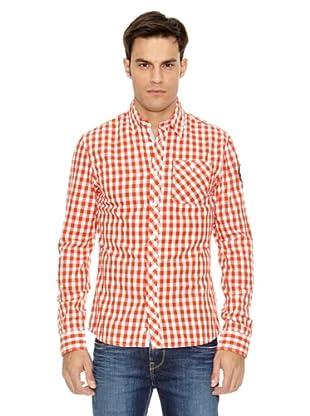 Pepe Jeans London Camisa Hertz (Rojo)