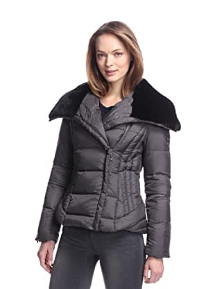 Dawn Levy Women's Mackenzie Down Jacket with Fur Collar (Arctic)