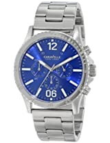 Caravelle New York  Sport Analog Blue Dial Men's Watch - 43A116