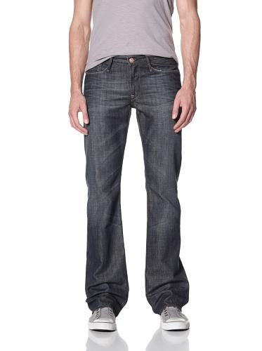 Earnest Sewn Men's Hutch Boot Cut Jeans (Maz Dark 3D)