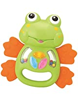 Winfun Light-Up Tunes Rattles - Frog, Multi Color