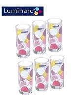 Luminarc Amsterdam Zoom 6 Pcs Glass Set - 270 ML