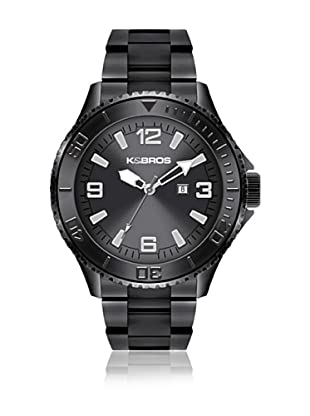 K&BROS Reloj 9564 (Gris)