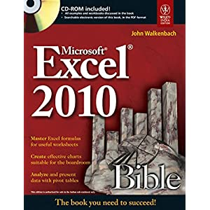 Microsoft Excel 2010 Bible