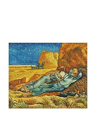 Arte Dal Mondo Pintura al Óleo sobre Lienzo Van Gogh Riposo Di Mezzogiorno