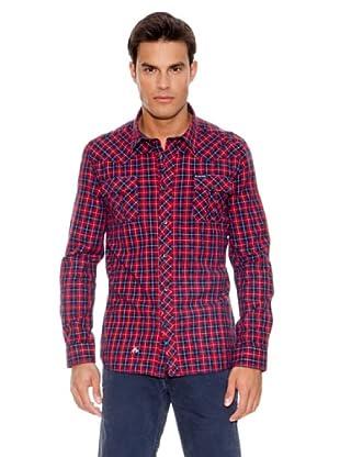 Pepe Jeans London Camisa Southern (Rojo)