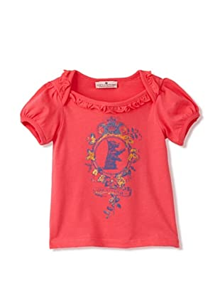 Juicy Baby Ruffle Trim T-Shirt (Pink)