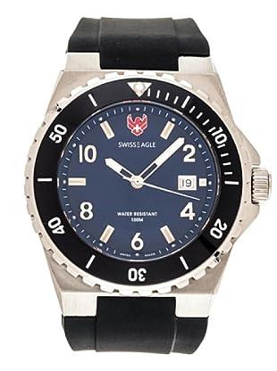 Swiss Eagle Reloj Dive Response azul
