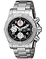 Breitling Men's BTA1338111-BC33SS Avenger II Analog Display Swiss Automatic Silver Watch
