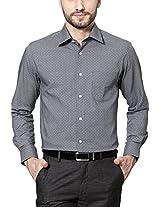 Peter England Grey Shirt