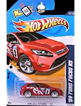 Mattel Hot Wheels - Hw All Stars 12 - 09 Ford Focus Rs - 9/10 , 129/247 [Scale 1:64]