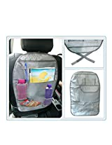 Set of 2- Back seat Organizer Grey