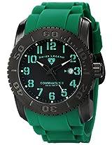 Swiss Legend Men's 10068-BB-01-GRSA Commander II Analog Display Swiss Quartz Green Watch