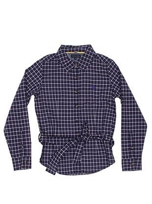 Tommy Hilfiger Camisa Cinturón (Azul Marino)