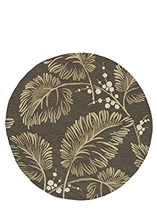 Kaleen Home & Porch Indoor/Outdoor Rug, Chocolate, 7' 9