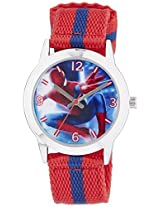 Marvel Comics Analogue Multi-Colour Dial Children's Watch - AW100035