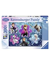 Ravensburger Disney Frozen Cool Character Collage Puzzle (300-Piece)