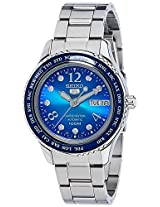 Seiko 5 Sports Analog Blue Dial Women's Watch - SRP375K1