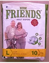 Friends Adult Diapers , M