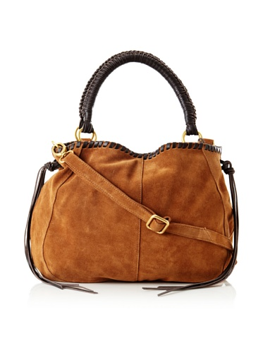 Linea Pelle Women's Willow Native Tote with Cross-Body (Whiskey)