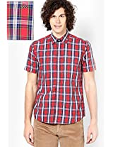 Red Casual Shirt Lee