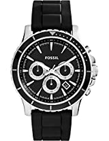 Fossil End of Season Briggs Chronograph Black Dial Men's Watch - CH2925