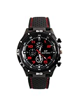 Dayan Racing Sport Stainless Steel Luxury Watch Mens Watches - Red