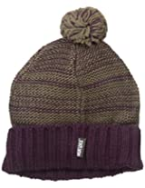 Muk Luks Women's Hat In Two Color Marl, Purple, One Size