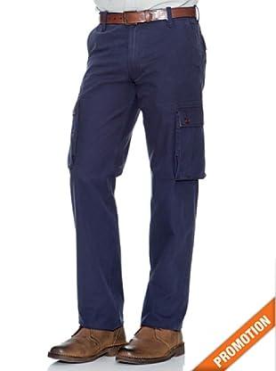 Dockers Pantalón Cargo Recto (Azul Oscuro)