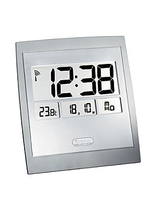Oregon Scientific Reloj radiocontrolado Jumbo con termómetro