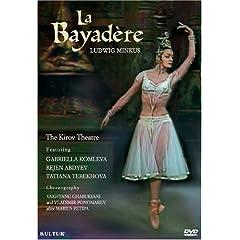 輸入盤DVD マリインスキー劇場:《ラ・バヤデール》のAmazonの商品頁を開く