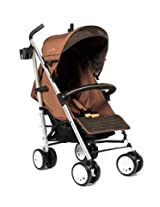 LA Baby Sherman Blvd Small Stroller, Tan/Black