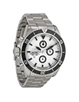 Haemmer Navy Diver Chronograph White Dial Men's Watch (NDC-03)