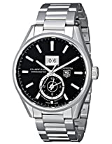 TAG Heuer Men's THWAR5010BA0723 Carrera Analog Display Swiss Automatic Silver Watch