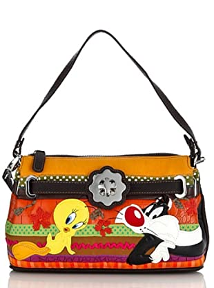 Looney Tunes Borsa Serendipity marrone