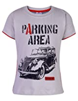 Ollypop T-Shirt Half Sleeves - Parking Area Print