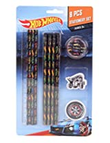 Mattel Hot Wheels Stationery Set, Multi Color