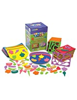 Chenille Kraft Wonderfoam Peel and Stick Foods and Fun Design Set