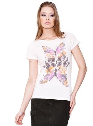 Esprit Camiseta Needle (Crema)
