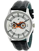 Fastrack Analog White Dial Men's Watch - NC3001SL04