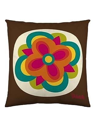 Valentina Funda de cojín Retro (Multicolor)