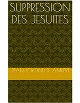 Suppression des Jesuites
