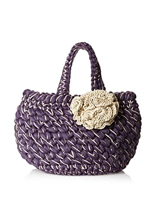 Lorenza Gandaglia Women's Amalfi Basket Tote with Flower