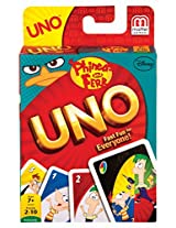 Disney Phineas and Ferb UNO Card Game