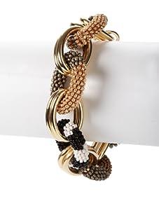 nOir Natural Multicolor Chain Bracelet